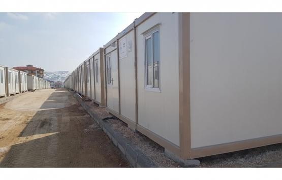 Türkiye Diyanet Vakfı'ndan depremzede aileler için konteyner ev!