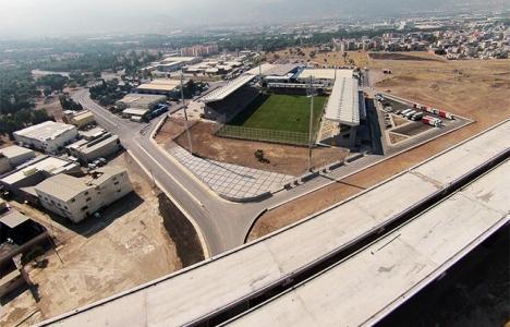 Yeni Bornova Stadı'nda sona gelindi!