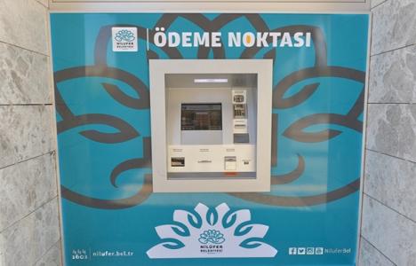 Nilüferliler vergi ödemelerini ATM'lerden yapabiliyor!
