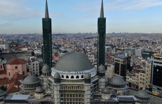 Taksim Cami'nin inşaatı bitiyor!