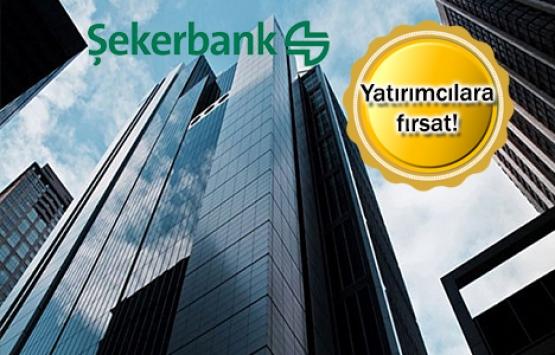 Şekerbank'ın 293 gayrimenkulü 31 Mayıs'ta satışta!