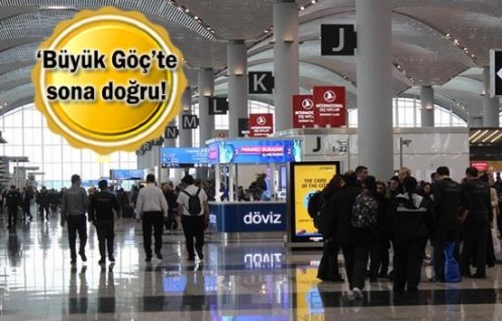 İstanbul Havalimanı'na taşınmanın yüzde 96'sı tamamlandı!