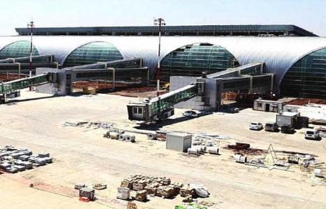 Diyarbakır Havalimanı inşaatında