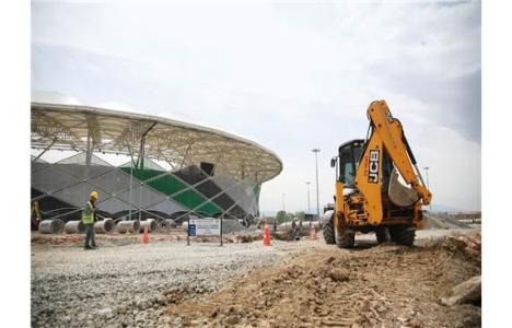 Yeni Sakarya Stadyumu'nun altyapısı yakında hazır!