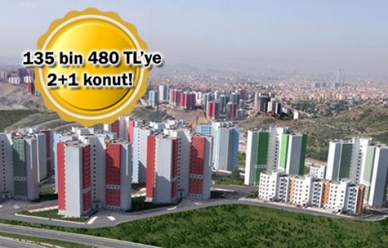 TOKİ'den başkentlilere ucuz konut fırsatı!