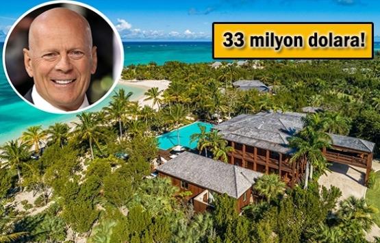 Bruce Willis Caicos'taki malikanesini satıyor!
