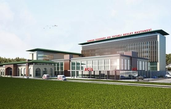 Tekkeköy Devlet Hastanesi'nin inşaatı hızlandırıldı!