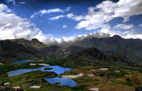 Erzurum'un Yedigöller'i turizme