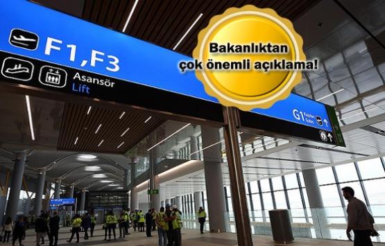 3. havalimanı 29 Ekim'de açılamayacak iddiası yalan!