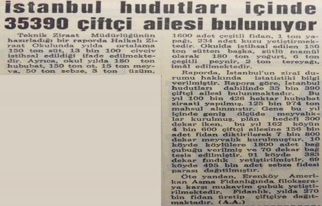 1966 yılında İstanbul'da