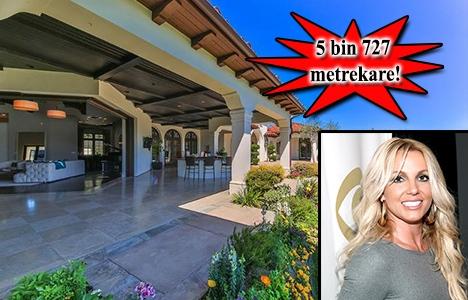 İşte Britney Spears'ın Los Angeles'taki evi!