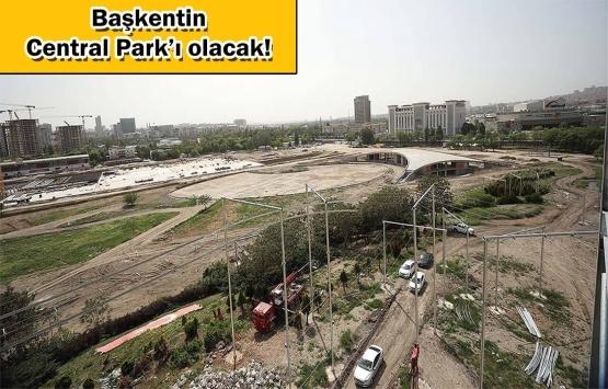 Ankara millet bahçesine kavuşuyor!