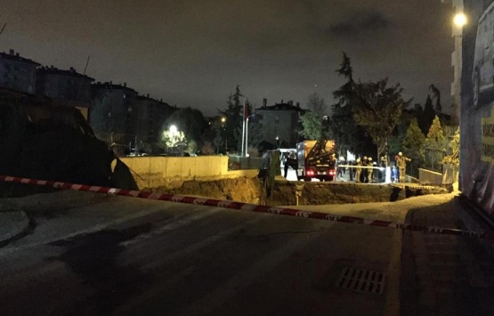 Ümraniye'de metro inşaatı yakınında göçük: 2 kişi öldü!