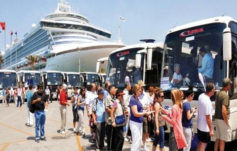 Yabancı turist sayısı yüzde 5,5 arttı!