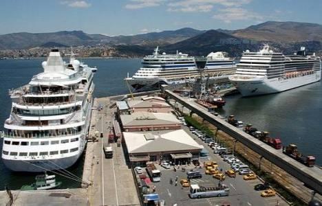 Kasım ayında İzmir'e gelen turist sayısı yüzde 8,39 arttı!