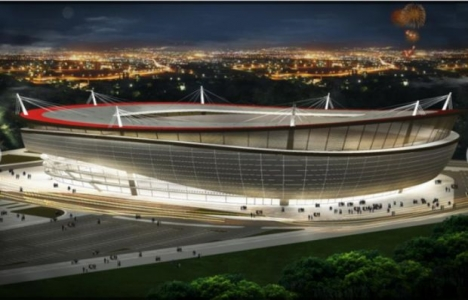 TOKİ Eskişehir Stadyum inşaatında sona yaklaşıldı!