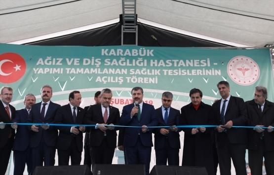 Karabük'te 3 hastane