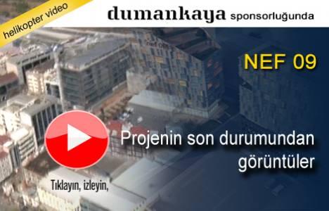 Nef Offices Dört Levent 09'un havadan son görüntüleri!