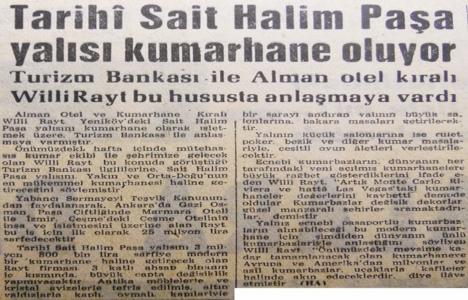1963 yılında Sait