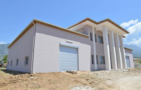 Alanya Mahmutlar Hizmet Binası tamamlandı!