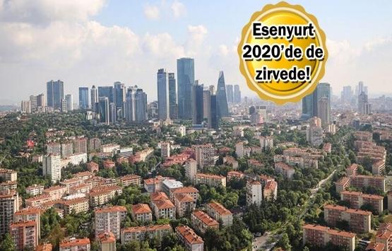 Esenyurt'ta 2020 Ocak'ta 3 bin 247 konut satıldı!