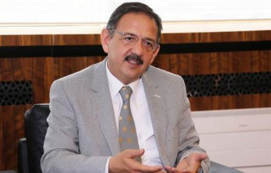 Mehmet Özhaseki'den Ankara'ya