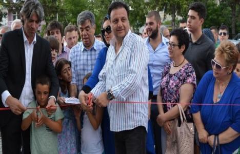 Büyükçekmece Belediyesi'nden Makedonya'ya çocuk parkı!