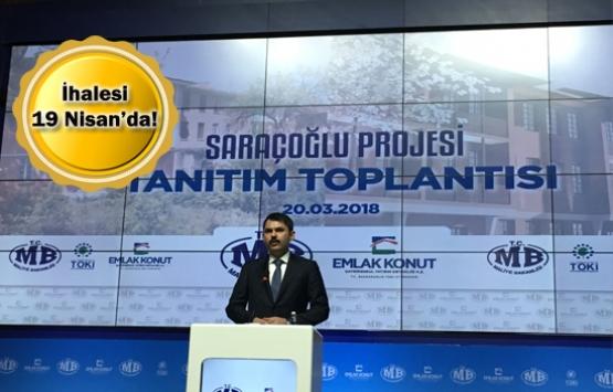 Emlak Konut Saraçoğlu projesi başlıyor!