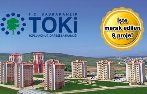 TOKİ İstanbul projelerinde