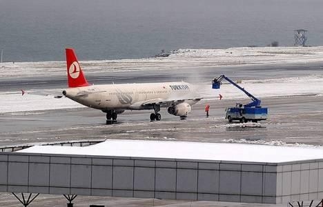Havalimanları kışlık önlemlerini aldı!