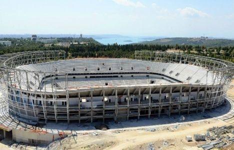 Adana Stadı'nın betonarme inşaatı tamamlandı!