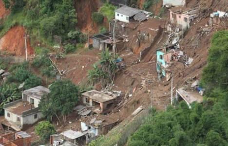 Brezilya'da sel ve