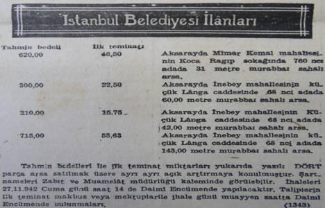 1942 yılında Aksaray'da