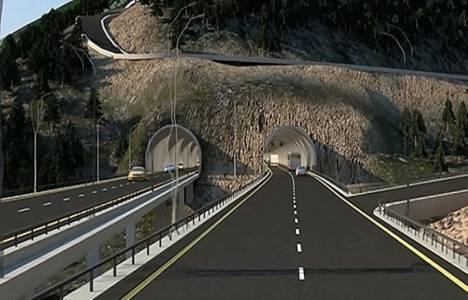 Zigana Tüneli'nde yer
