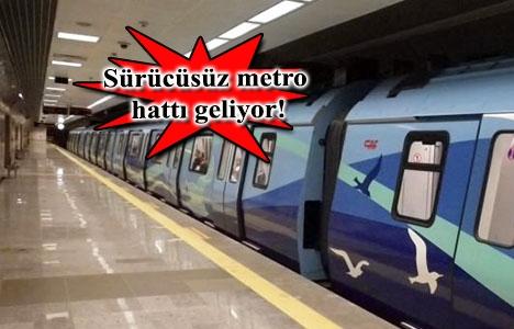 Çekmeköy-Sancaktepe-Sultanbeyli metro hattının