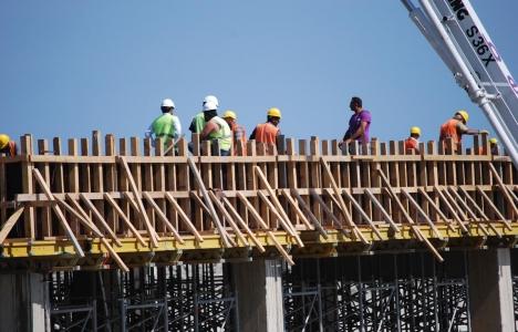 İnşaat sektöründe yüzde 7,2 istihdam yapıldı!