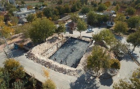 Gaziantep Geneyik'te sosyal tesis inşaatı başladı!