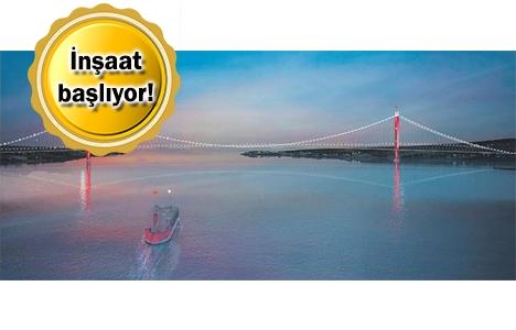 1915 Çanakkale Köprüsü'nün temeli yarın atılıyor!