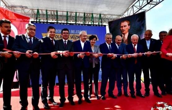İzmir Bergama Yarı Olimpik Yüzme Havuzu açıldı!