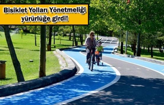 Yeni imar planlarında bisiklet yolu zorunlu oldu!