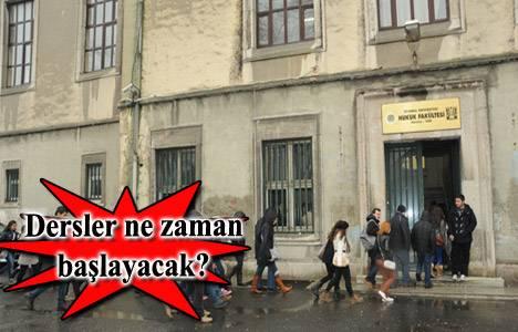 İstanbul Üniversitesi Hukuk Fakültesi'nde tadilat ne zaman bitecek?