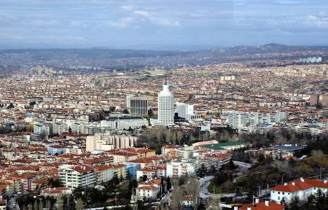 Ankara inşaat alanında