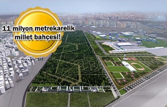 Atatürk Havalimanı arazisine