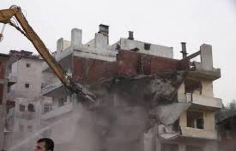 TOKİ: Rize'de yıkımı