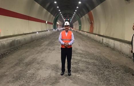 Ovit Tüneli'nde son