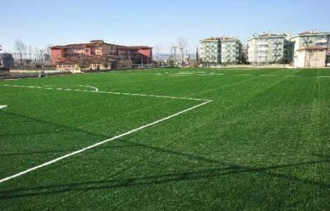 Melikgazi'de sentetik futbol sahası yaptırılacak!