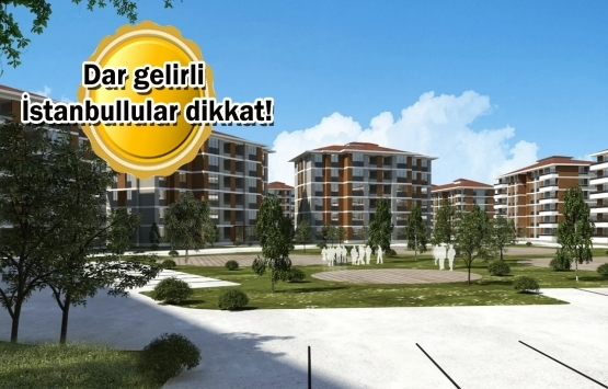 TOKİ'den İstanbul'a 1.446 yeni konut müjdesi!
