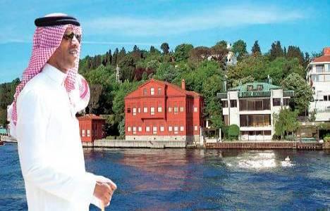 İstanbul'un yalıları Araplara