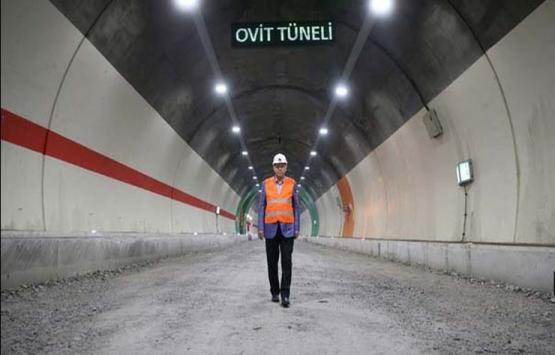 Ovit Tüneli yarın