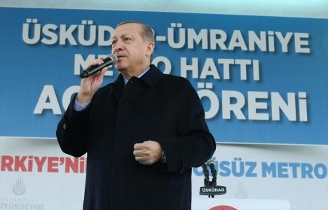 Cumhurbaşkanı Erdoğan: İstanbul'u